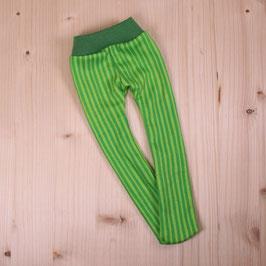 Strumpfhose Streifen grün