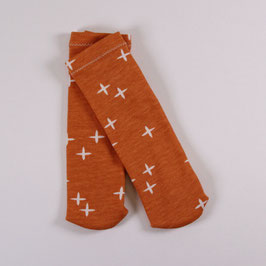Rucki-Zucki-Ringelsocken orange