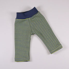 Leggings Ringel grün/ blau