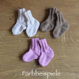 Strick-Socken auf WUNSCH