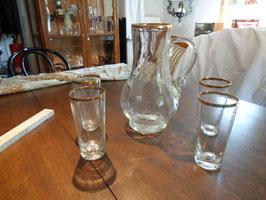 Hp-5/16 Kanne mit 4 Gläsern