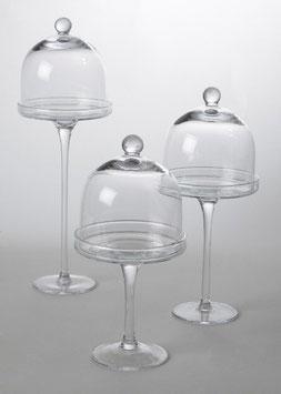 Glasetagere, Pralinenglas, verschiedene Größen