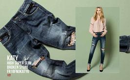 Jeans denim Donna Fracomina art FR18FMJKATY6  Autunno Inverno 2018/19