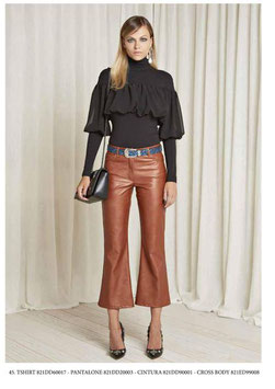 Pantalone donna Denny Rose art 821DD20003 Autunno 2018/19