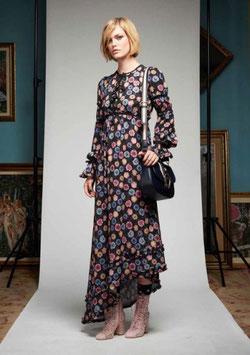 Dress Abito donna Denny Rose art 721DD10012 Autunno Inverno 2017 2018