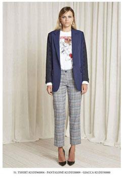 Pantalone donna Denny Rose art 821DD20009 Autunno 2018/19