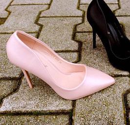 Scarpe decoltè tacco rosa Donna art A14 colore come d foto