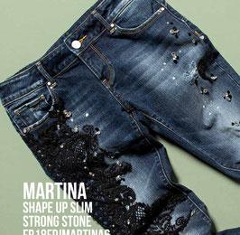 Jeans denim Donna Fracomina art FR18FPJMARTINA6 Autunno Inverno 2018/19