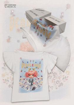 Maglia t-shirt donna Denny Rose art 73dr16002 Primavera 2017