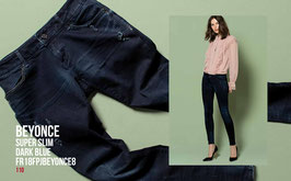 Jeans denim Donna Fracomina art FR18FPJBEYONCE8 Autunno Inverno 2018/19