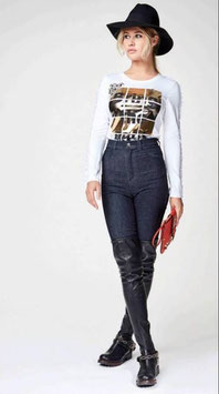 Pantalone vita alta Denny Rose art 64dr12010 Autunno 2016/17