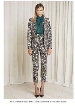 Pantalone donna Denny Rose art 821DD20012 Autunno 2018/19