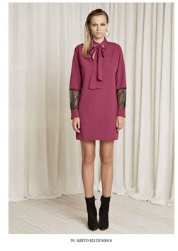 Abito Dress donna Denny Rose art 821DD10018 Autunno 2018/19