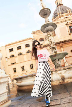 Maglia donna Denny Rose art 911DD60011 Primavera Estate 2019 col bianco