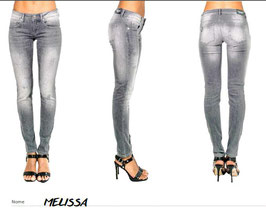 Jeans patalone denim modello -Melissa- donna Denny Rose art 811SJ26004 Primavera 2018