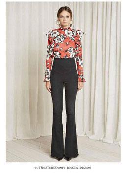 Pantalone donna Denny Rose art 821DD20005 Autunno 2018/19  colore nero