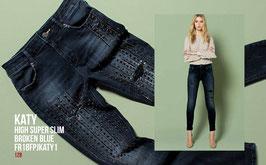 Jeans denim Donna Fracomina art FR18FPJKATY1  Autunno Inverno 2018/19