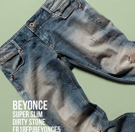 Jeans denim Donna Fracomina art FR18FPJBEYONCE5 Autunno Inverno 2018/19