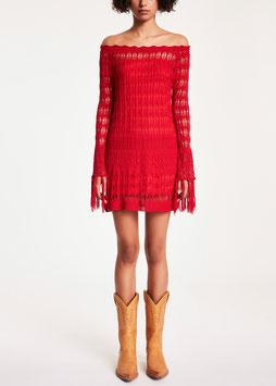Completo: abito con sottoveste donna Denny Rose art 912DD50024 Estate 2019 variante colore ROSSO