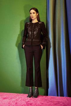 Pantalone nero donna Denny Rose art 73dr12007 Primavera 2017