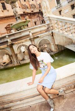 Maglia donna Denny Rose art 911DD60014 Primavera Estate 2019