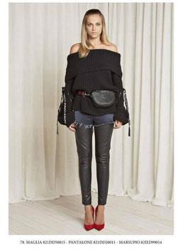Pantalone donna Denny Rose art 821DD20011 Autunno 2018/19
