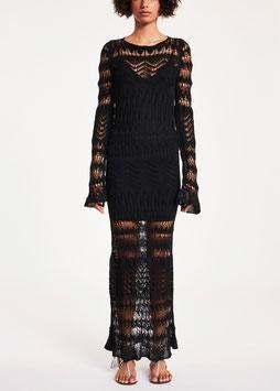 Completo: abito con sottoveste donna Denny Rose art 912DD50025 Estate 2019 variante colore NERO