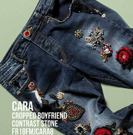 Jeans denim Donna Fracomina art FR18FMJCARA8 Autunno Inverno 2018/19