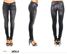 Jeans patalone denim donna -Viola- Denny Rose art 811SJ26003 Primavera 2018