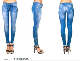 Jeans patalone denim donna Denny Rose art 811SJ26009 Primavera 2018