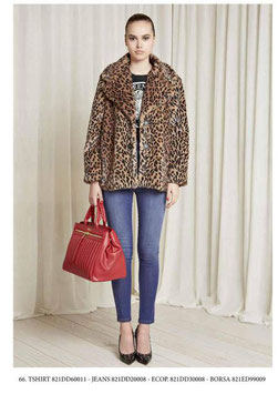 Pantalone donna Denny Rose art 821DD20008 Autunno 2018/19 colore jeans