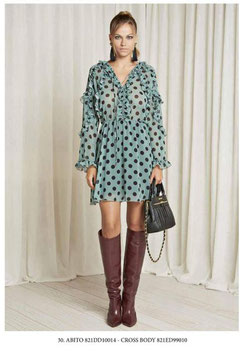 Abito Dress donna Denny Rose art 821DD10014 Autunno 2018/19