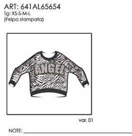 Felpa donna Almagores art 641AL65654 Autunno Inverno 2016/17