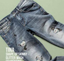 Jeans denim Donna Fracomina art FR18FPJTINA  Autunno Inverno 2018/19