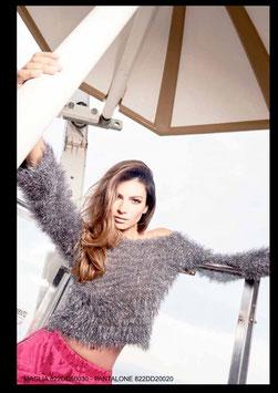 Maglia shirt donna Denny Rose art 822DD50030 Evening Natale 2018/19