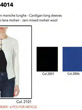 Cardigan manica lunga art 921Nd54014 Denny Rose Jeans Autunno 2019/20