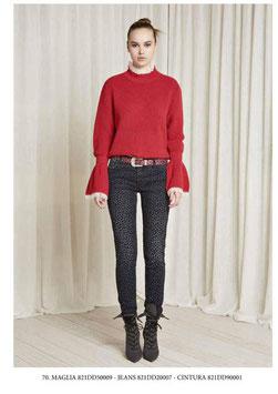 Pantalone donna Denny Rose art 821DD20007 Autunno 2018/19