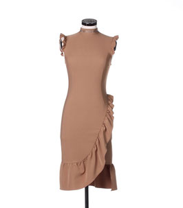 Abito Dress donna Denny Rose art 821DD10004 Autunno 2018/19 beige