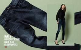 Jeans denim Donna Fracomina art FR18FPJKATY2  Autunno Inverno 2018/19