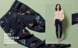 Jeans denim Donna Fracomina art FR18FPJKATY5  Autunno Inverno 2018/19