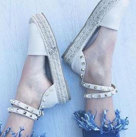 Scarpe Sandalo inspired Donna art a03 colore bianco