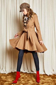 Cappotto giacca con cintura donna Denny Rose art 821DD30005 Autunno 2018/19