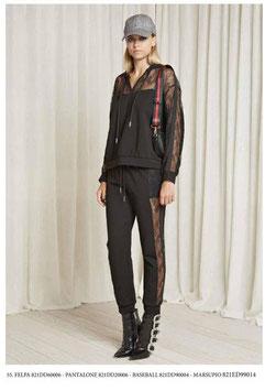 Pantalone donna Denny Rose art 821DD20006 Autunno 2018/19
