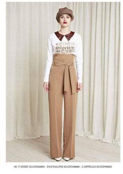 Pantalone donna Denny Rose art 821DD20000 Autunno 2018/19