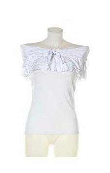 Maglie shirt colore bianco donna Denny Rose art 73dr26007  Estate 2017