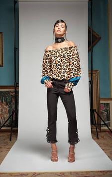 Pantalone donna Denny Rose art 721DD20011 Autunno Inverno 2017 2018