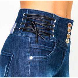 Jeans pantalone denim donna Denny Rose art 811SJ26012 Primavera 2018
