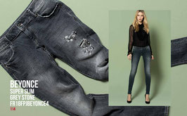 Jeans denim Donna Fracomina art FR18FPJBEYONCE4 Autunno Inverno 2018/19