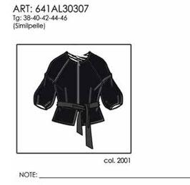Giacca eco pelle  donna Almagores art 641AL30307 Autunno Inverno 2016/17