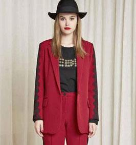 Giacca donna Denny Rose art 821DD30000 Autunno 2018/19 colore rosso